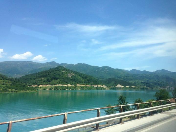 beautiful scenery in bosnia from mostar to sarajevo